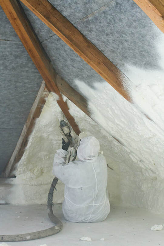 spray foam insulation r value  mi