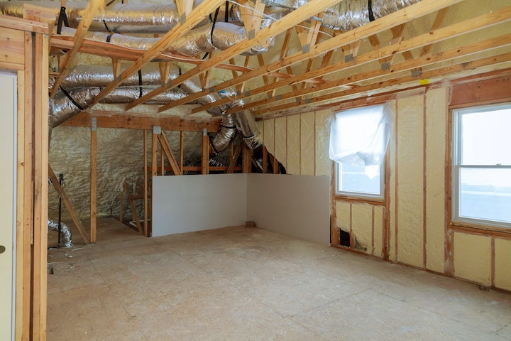 New Construction Foam Insulation